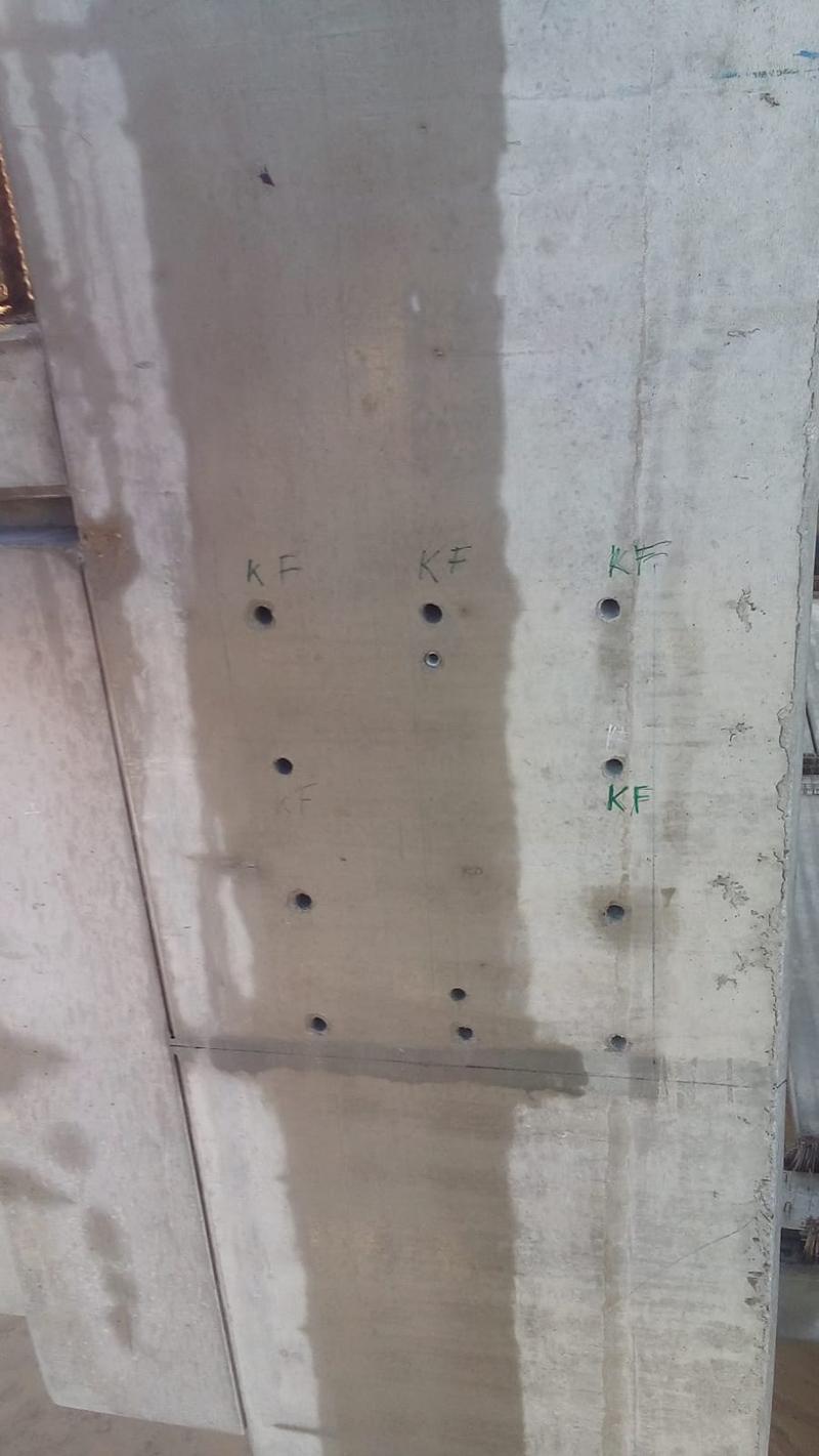 betonfúrás