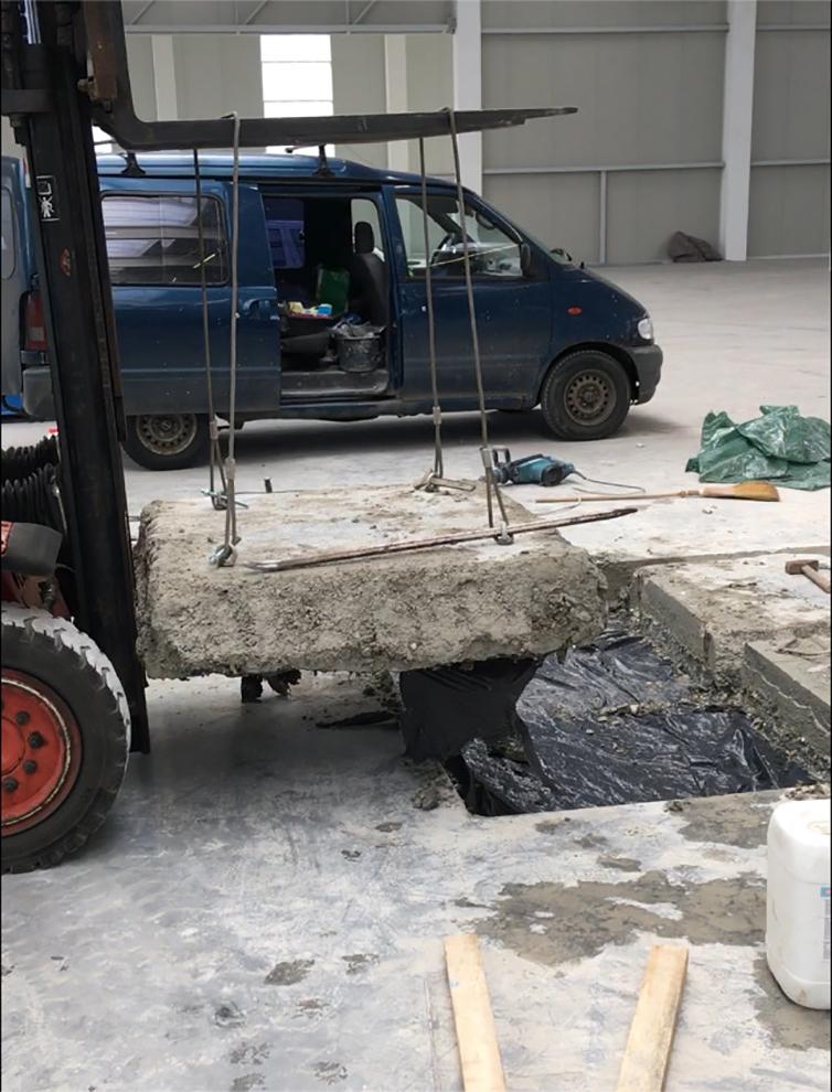 ipari padlóvágás